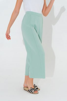Mint  Elastic Trouser