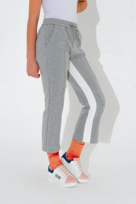 Strapped Grey Trouser