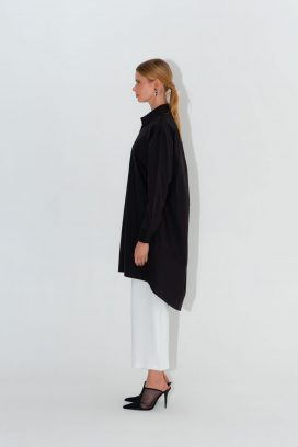 Black  Full Sleeves Tunic