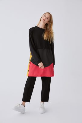 Full Sleeves Black Top