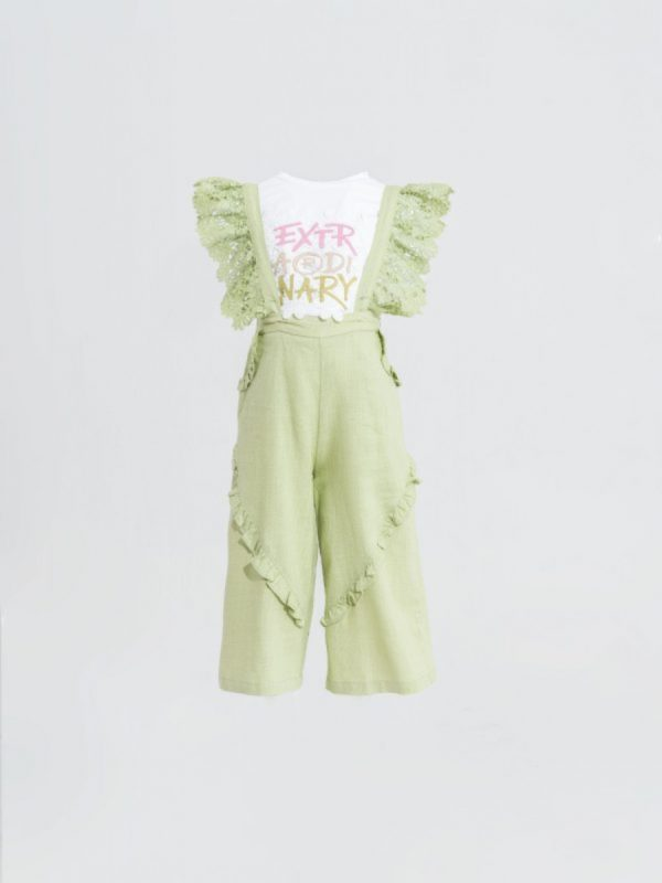 kids jumpsuit Sleeveless Printed Jumpsuit