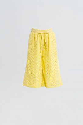 Wide yellow Trouser
