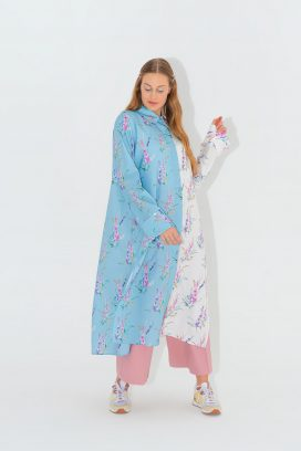 Long Floral Tunic