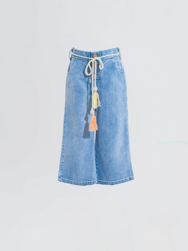 kids trouser Fun Wide Denim Trouser